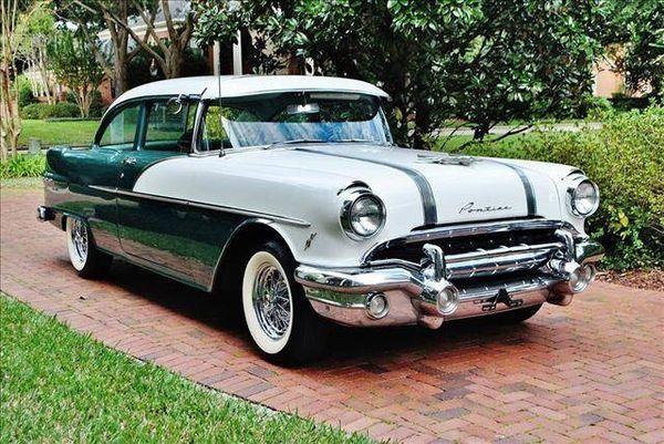 1956 Pontiac Chieftain.....stock color...