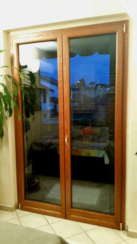 Porte finestre il legno alluminio Monza