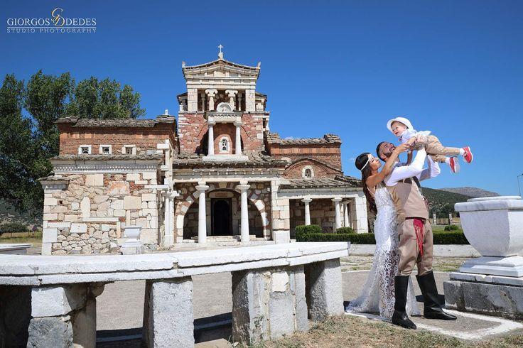 Φωτογράφηση γάμου-βάπτισης στην Αγία Φωτεινή στην Αρχαία Μαντινεία