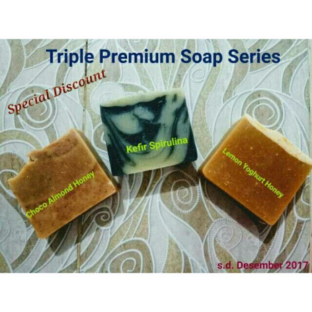 Saya menjual Triple Premium Soap Series seharga Rp35.000. Dapatkan produk ini hanya di Shopee! https://shopee.co.id/sherlyramayantie/612576296 #ShopeeID
