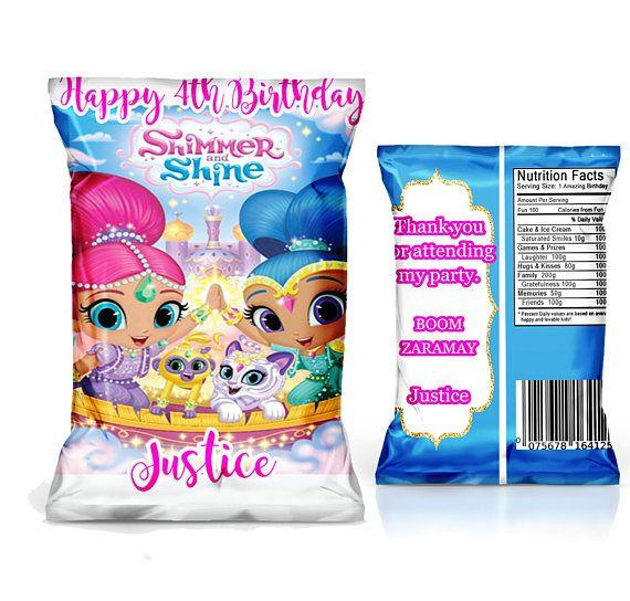shimmer and shine chip bag favor party supplyyou print paper bag clip art free paper bag clip art free