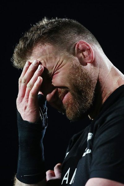 Kieran Read Photos - Kieran Read of the All Blacks reacts following the Rugby Championship match between the New Zealand All Blacks and the South African Springboks at QBE Stadium on September 16, 2017 in Auckland, New Zealand. - New Zealand v South Africa - The Rugby Championship