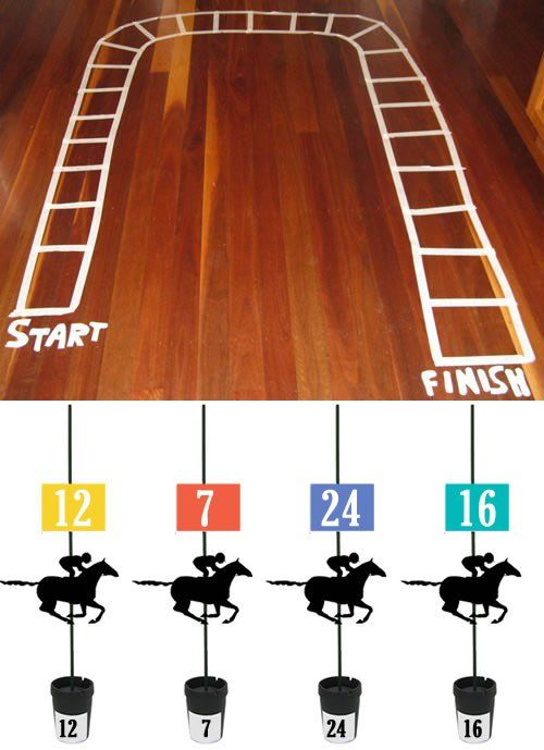 The Horse-Race game is a great way to spend the morning on Melbourne Cup Day! This is a fun activity for the elderly in nursing homes and assisted living facilities.