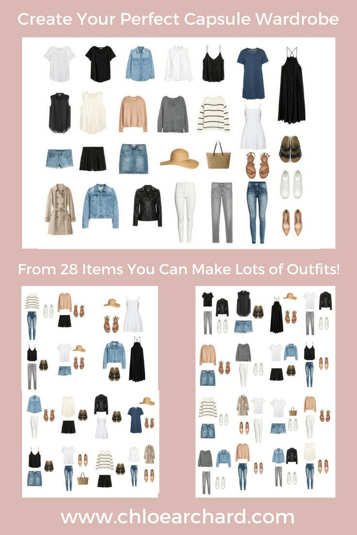 Create Your Excellent Capsule Wardrobe: A Step-By-Step Information – Chloe Archard