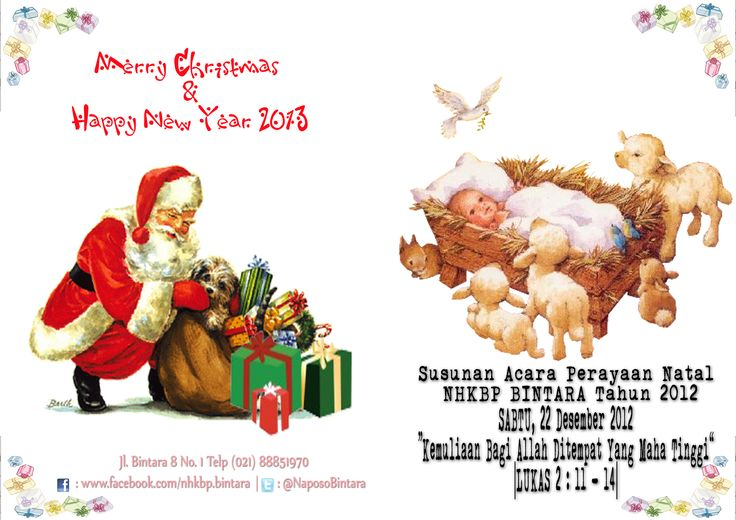 Christmas Book HKBP Bintara