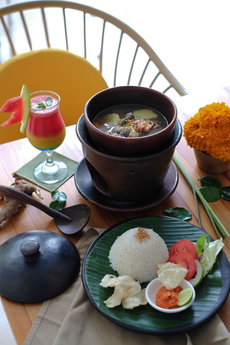 """Our Oxtail Soup -""""Sop Buntut"""" is simply irresistible. Try our version for dine option today. So sumptious!"""