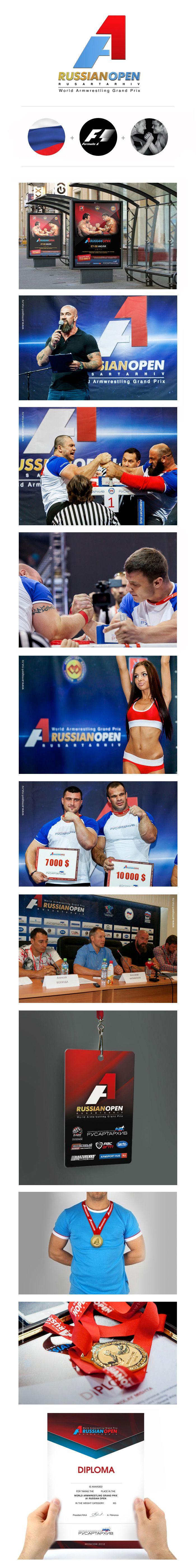 A1 Russian Open 2012 identity