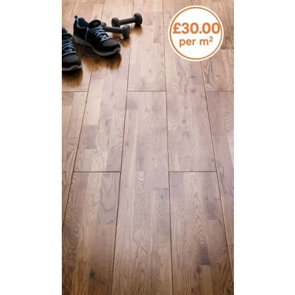 Solid Oak Flooring Homebase Uk, Zebrano Laminate Flooring Homebase