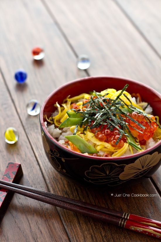 Chirashi Sushi | Sushi Recipe | Just One Cookbook