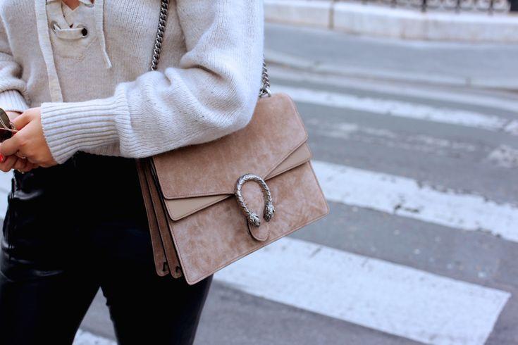 Jessie from German Fashionblog Journelles wears Gucci Dionysus Bag