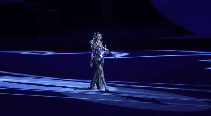 Olympische Spiele 2016 in Rio: So gigantisch war die Eröffnungsfeier - Blick: Gisèle Bündchen