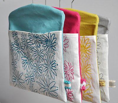 peg bags... by Karen - Blueberry Park                                                                                                                                                     More