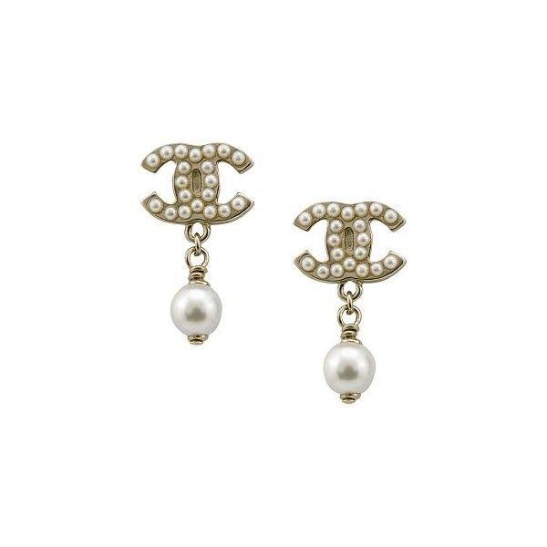 best 25 chanel pearl earrings ideas on