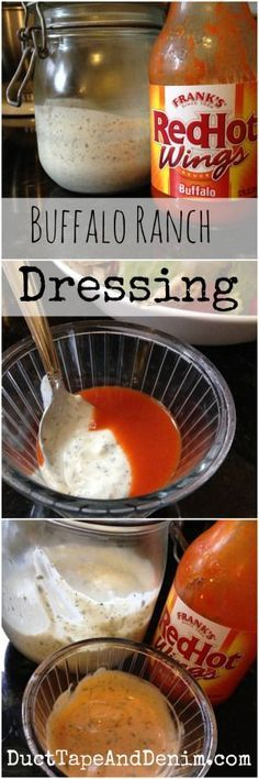 Homemade Buffalo Ranch Salad Dressing Recipe | DuctTapeAndDenim.com.jpg