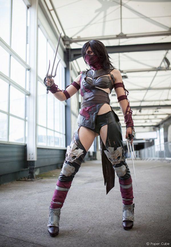 Mileena - Mortal Kombat X by Paper-Cube.deviantart.com on @DeviantArt