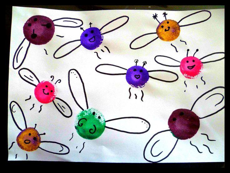 Libellules, activité enfant, bricolage, été