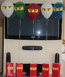 Ninjago birthday party! Ryan jr's 8th birthday theme , he is obsessed . He's going to love it .