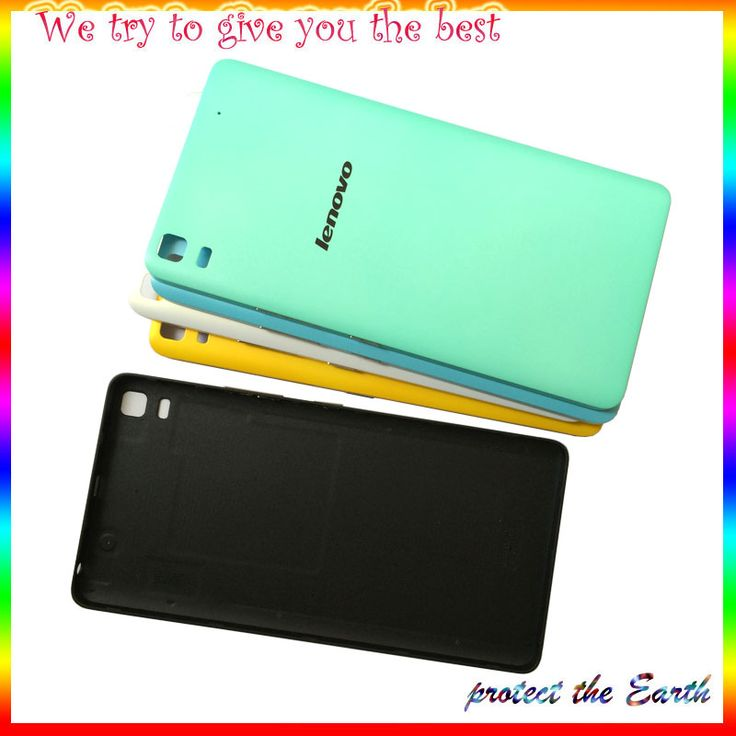 New Original Battery Back Cover Door Phone Housing Case For Lenovo K3 NOTE K50-T5 A7000 battery door middle plate front housing