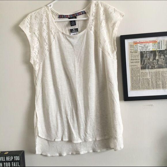 Zara Neon Lace Blouse 104