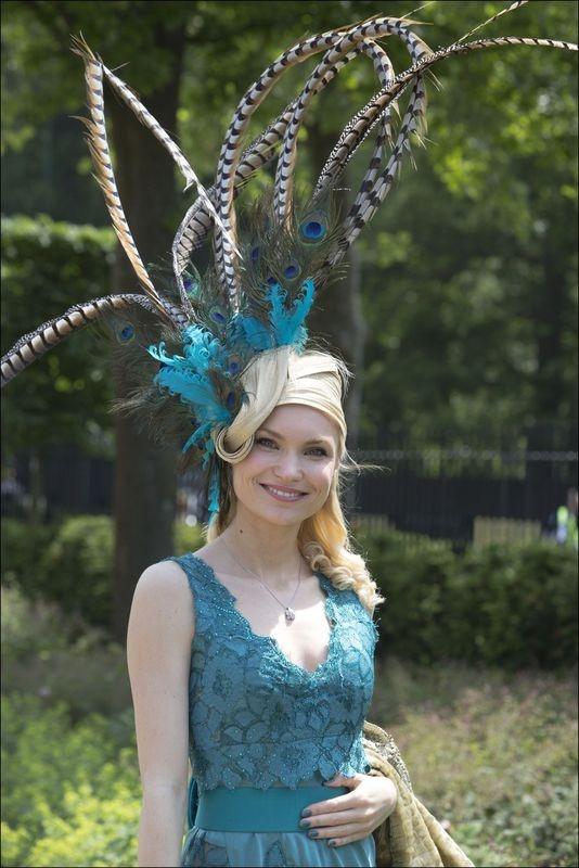 Excentrieke hoeden op Royal Ascot