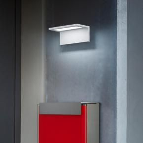 Elegant Helestra DRIFT LED Wandleuchte in wei silber anthrazit uac ber Reuter HausnummernBriefkastenAnthrazitHaus IdeenEingangBeleuchtungSilberSilver