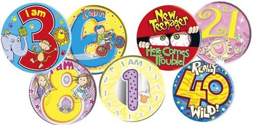BADGES FOR FAMILY OCCASIONS