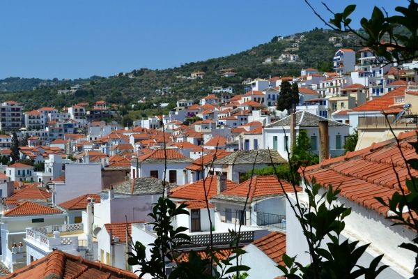 Roofs of Skopelos Town