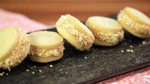 Carla Hall's Brownie Ice Cream Dippers Recipe | The Chew - ABC.com