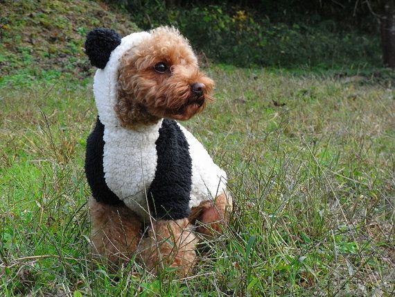 Kawaii Rabbit and Panda Costume PDF Patterns by dogwearmillamilla, €7.00