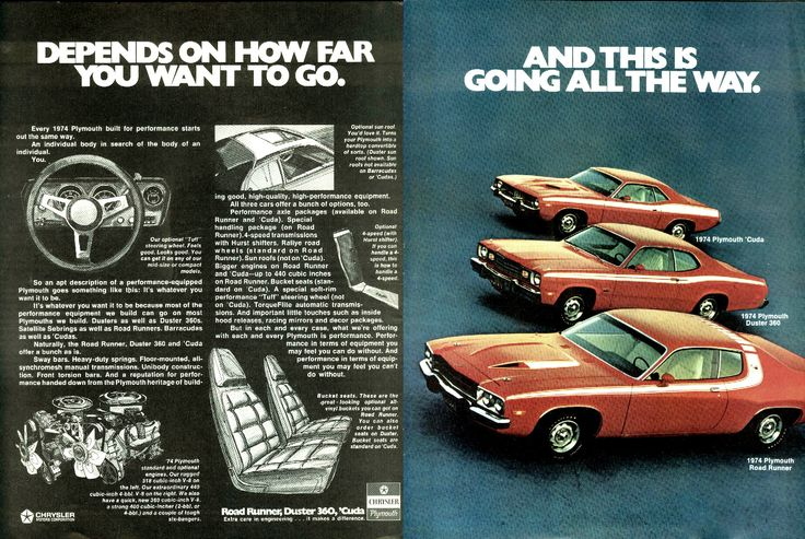 Plymouth Coupes for '74