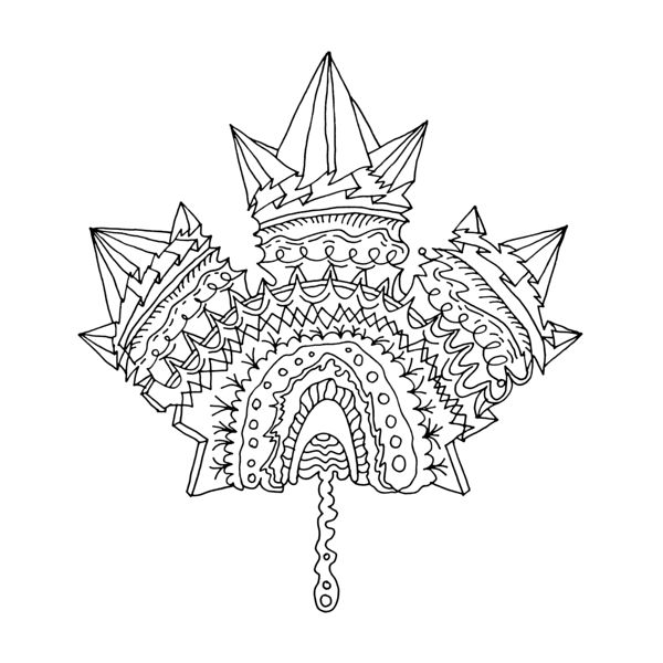 maple coloring pages - photo#29