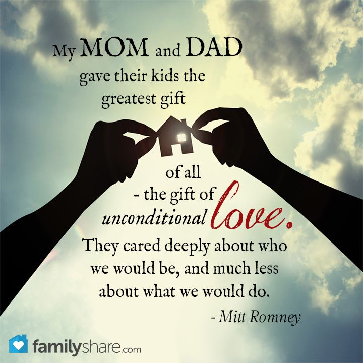 Mom Dad Love Quotes Images