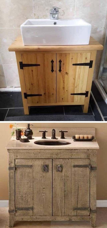 Pallet Bathroom Cabinets Pallet Bathroom Diy Pallet Furniture Diy Bathroom