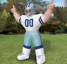 Inflatable Football Player #football #NFL #inflatables #frontyard #yard