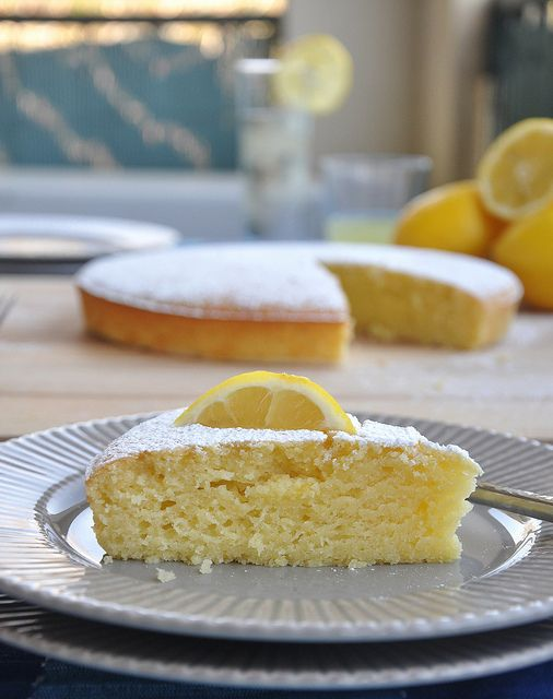 Lemon Olive Oil Cake | Good Food | Pinterest