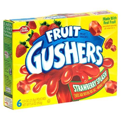 Fruit Gushers - Strawberry Splash!
