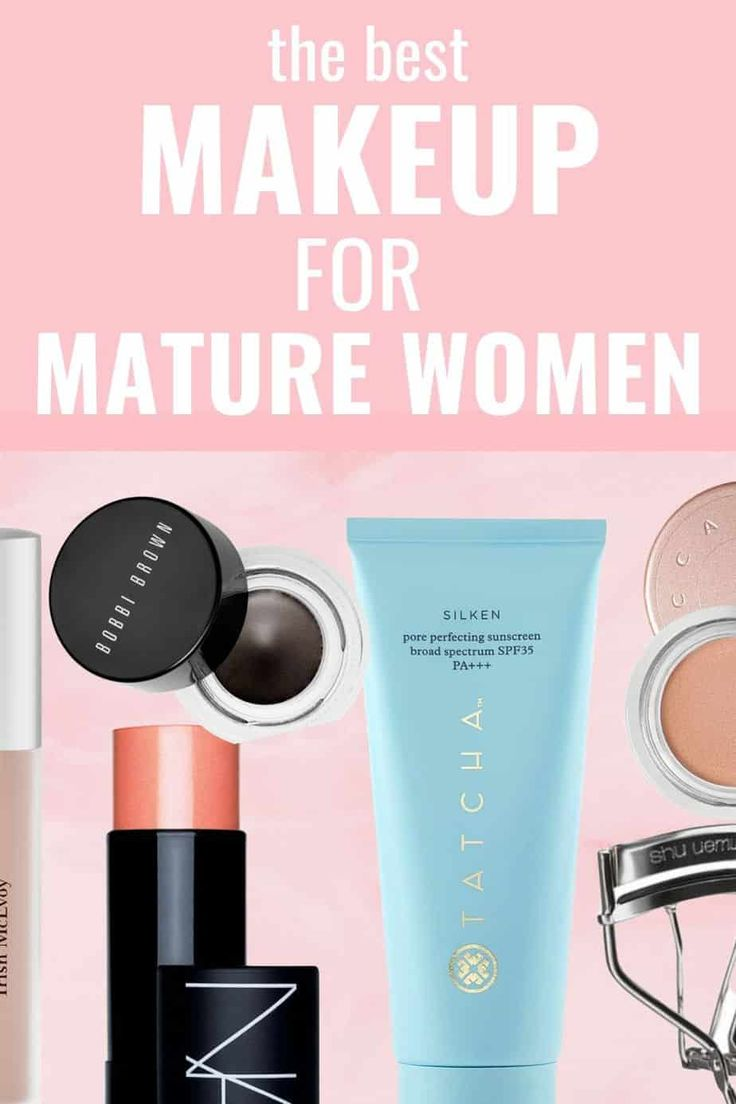 The Best Makeup for Older Women: 21 Products Mature Women Swear By Bobbi Brown Gel Eyeliner, Best Eyeliner, Everyday Makeup Tutorials, Everyday Makeup Routine, Makeup Tutorial Foundation, No Foundation Makeup, Black Girl Makeup Natural, Foundation For Mature Skin, Best Makeup Products