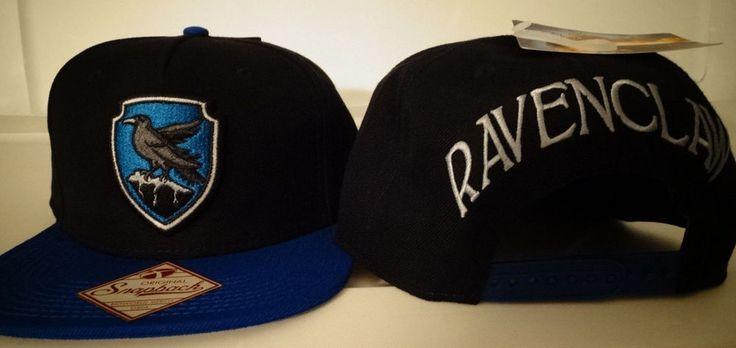 Harry Potter Ravenclaw Snap Back Black Hat Nwt #HarryPotter #BaseballCap