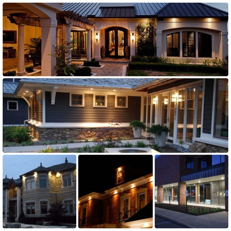 10 Best Images About Soffit Lights On Pinterest