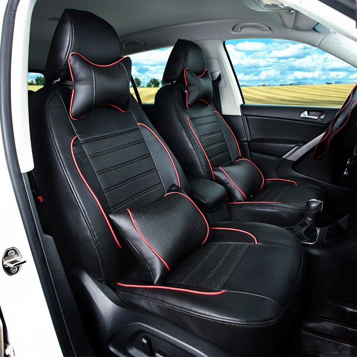 ==> [Free Shipping] Buy Best 100% coverage PU leather car seat covers for nissan murano 2015 2016 seat cover set for cars accessories seat cushion pillowrest Online with LOWEST Price | 32814582702