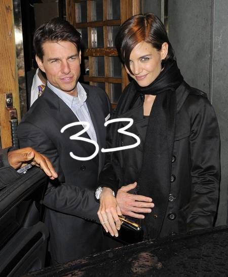 Creepy coincidence or Scientology science!?!   Just like the headline reads, all three of Tom Cruise´s marriages have ended when the wives were 33.   He wed MiMi Rogers in May of 1987, but they...