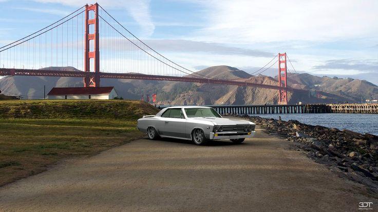 Qué tal les parece mi tuning #Chevrolet #ChevelleSS-396 1967 en 3DTuning #3dtuning #tuning?