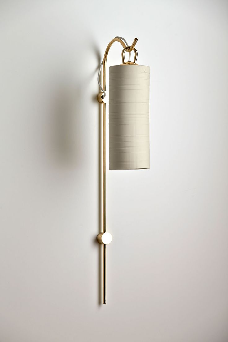 Interview / Nicci Green of Articolo | Yellowtrace - wall sconce. Brass, ceramic