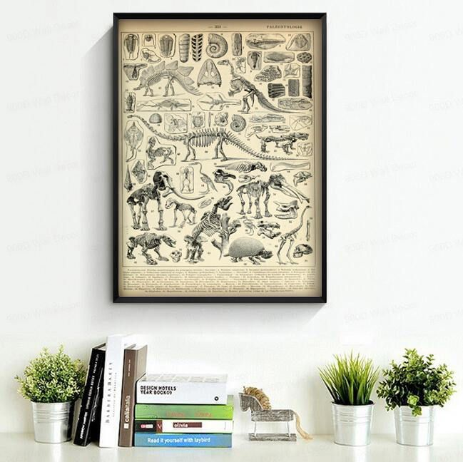 Dinosaurs Home Or Office Wall Decor See How It Might Look Like
