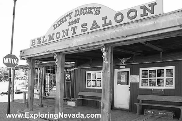 Dirty dicks saloon belmont nv