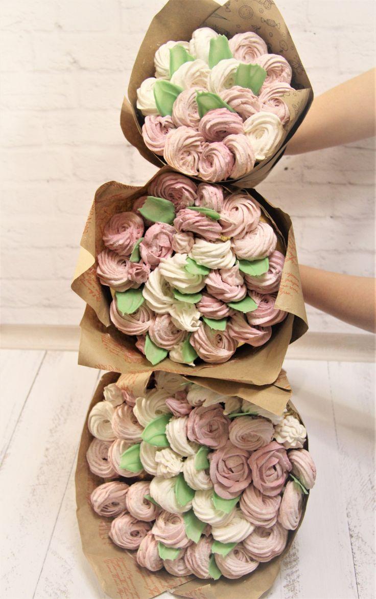 Букет цветов из пастилы, магазин