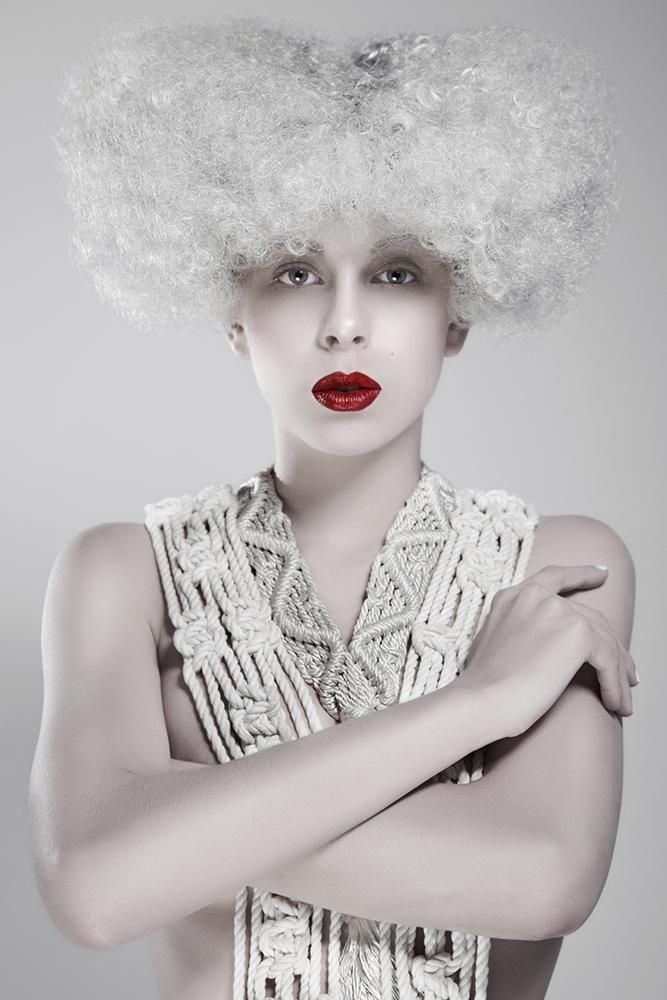 6 Fashionable Ways to Wear Icy White Hair Color | Modern Salon #whitehair #haircolor #haircollections #hair #redlips