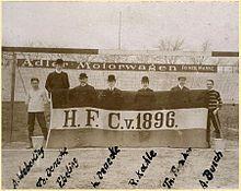 Hannover 96 Vereinsfahne 1905