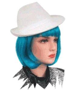 Witte kojak maffia hoed  Witte kojak hoed voor dames en heren. Deze witte kojak hoed is gemaakt van wolvilt. Het formaat van deze kojak hoedjes is 55/57 cm. Deze kojak hoedjes is prima te gebruiken als gangster of maffia hoed.  EUR 4.95  Meer informatie