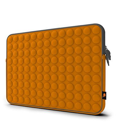 Take a look at this Orange & Gray Aerosphere 15'' Laptop Sleeve by Cygnett on #zulily today!